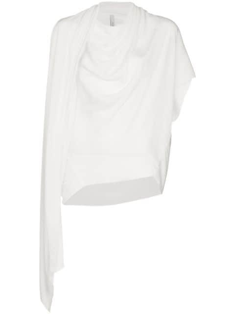Poiret Neck Scarf Short Sleeved Top - Farfetch