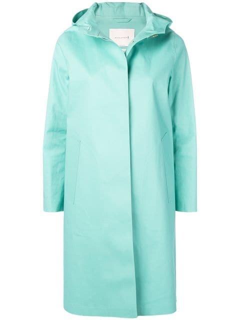Mackintosh Cascade Bonded Cotton Hooded Coat LR-021 - Farfetch