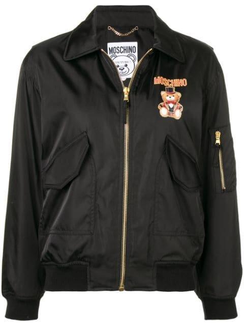Moschino Circus Bear Bomber Jacket - Farfetch