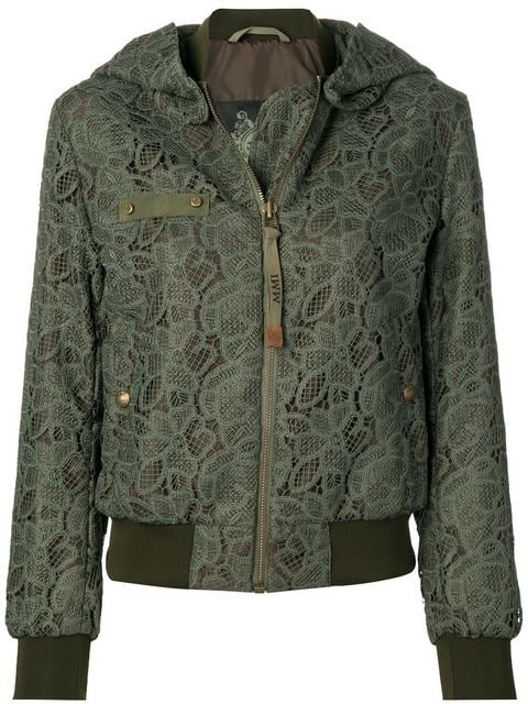 Mr & Mrs Italy Lace Embroidered Bomber Jacket - Farfetch