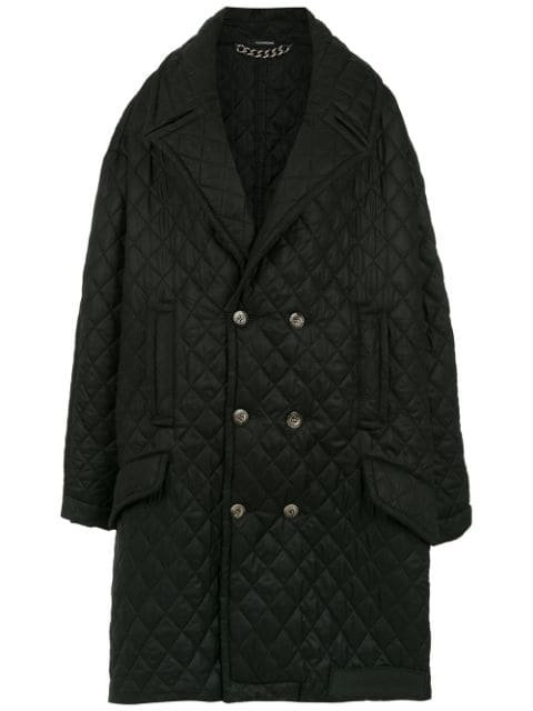 À La Garçonne Oversized Quilted Coat - Farfetch