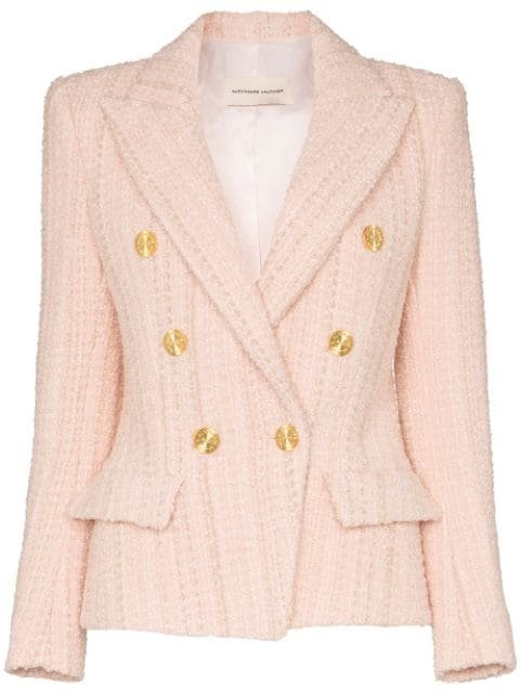Alexandre Vauthier double-breasted Tweed Blazer - Farfetch