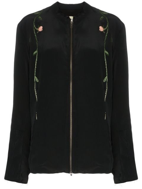 By Walid Floral Embroidered Jacket - Farfetch