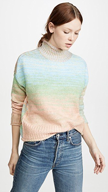 Neon Melange Sweater