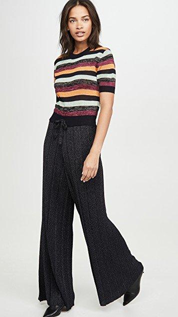 Multi Stripe All In One Jumpsuit