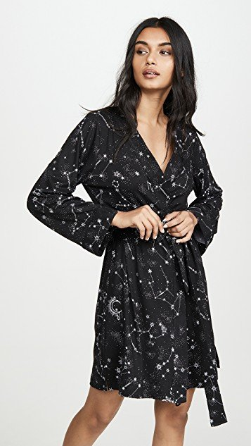 What\'s Your Sign Classic Short Robe