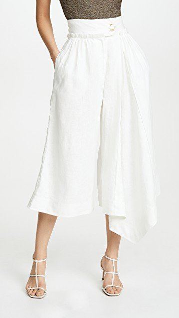 Mimosa Pleated Culottes