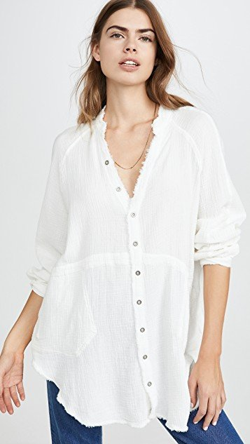 Summer Daydream Button Down