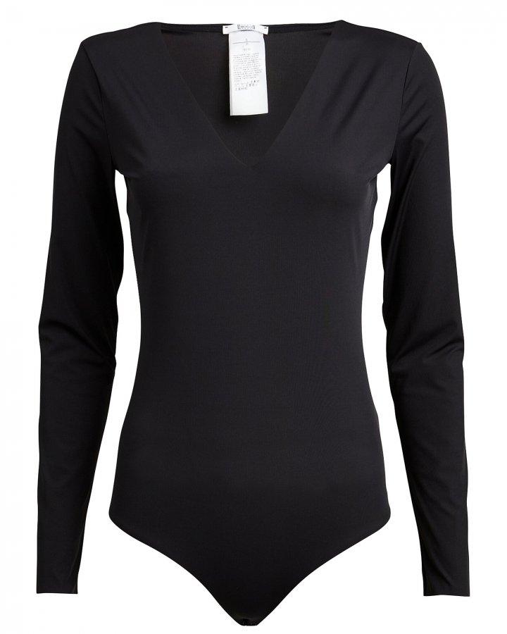 V-Neck Long Sleeve Bodysuit