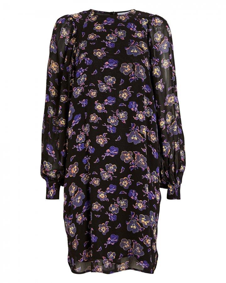 Floral Georgette Mini Dress