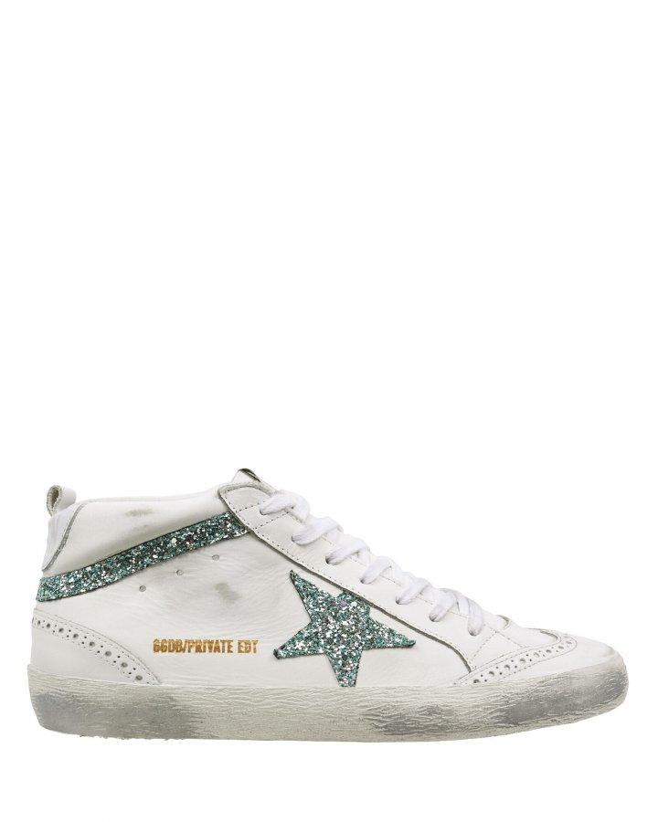 Mid Star Glitter Sneakers