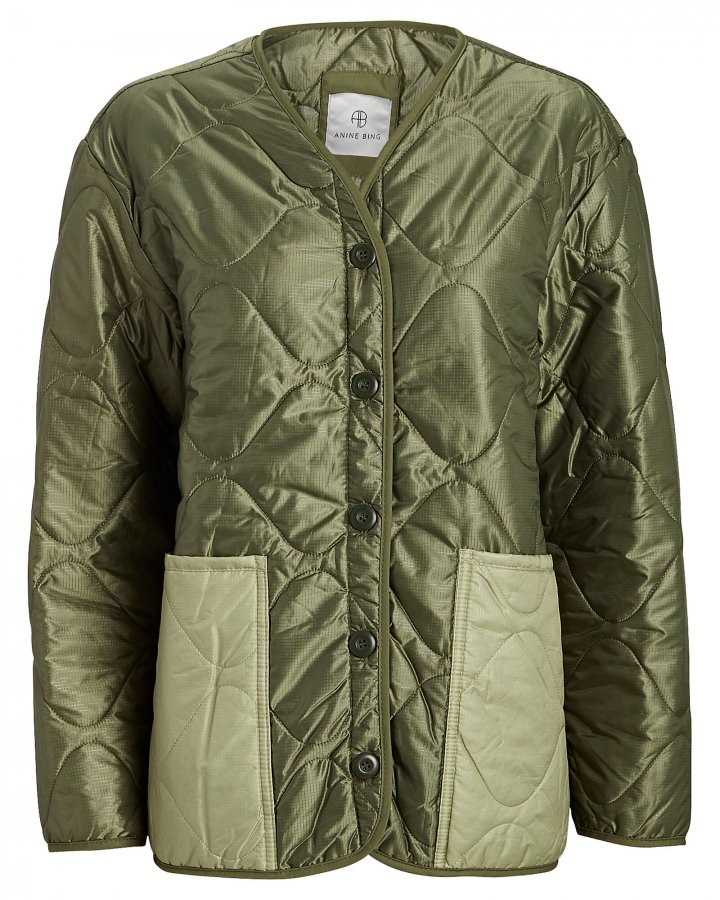 Andy Quilted Bomber Jacket