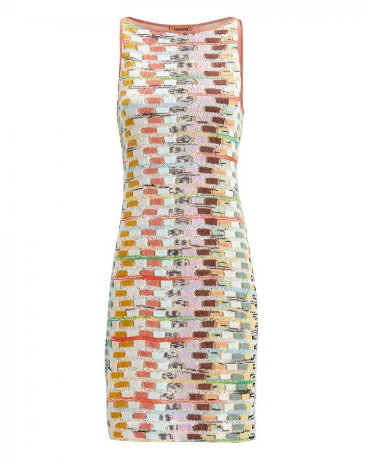 Knit Shift Mini Dress