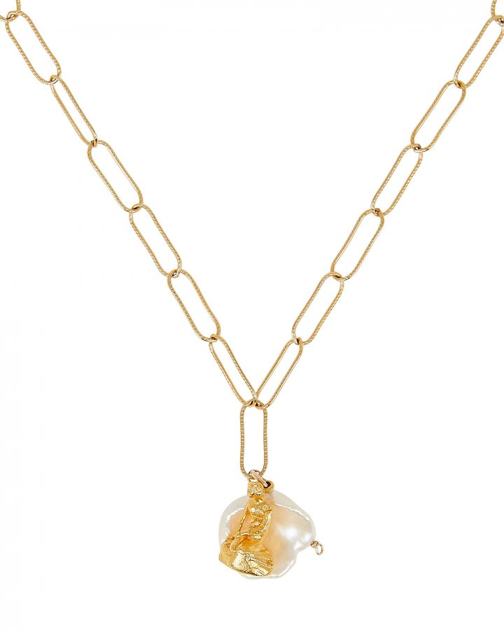 Tales of the Sea Pearl Necklace