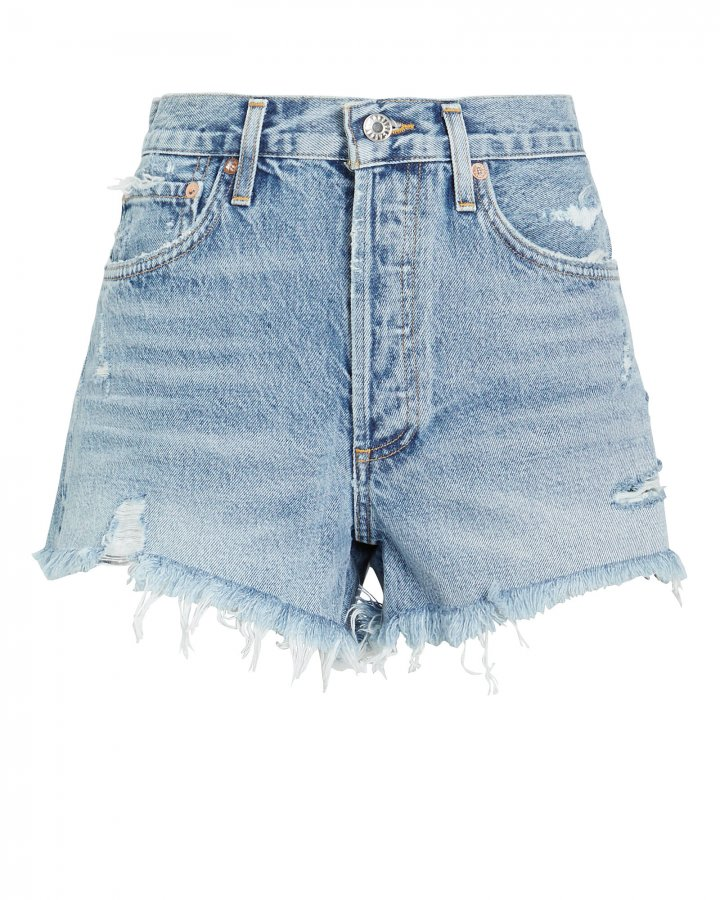 Parker Cut-Off Denim Shorts