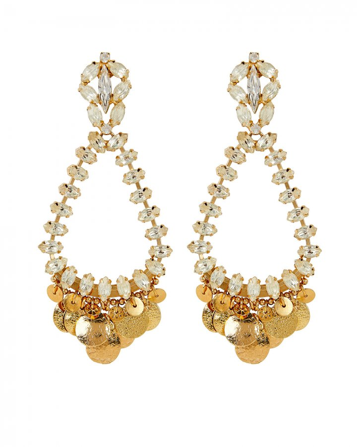 Riviera Crystal Drop Earrings
