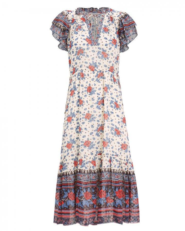 Reese Georgette Midi Dress