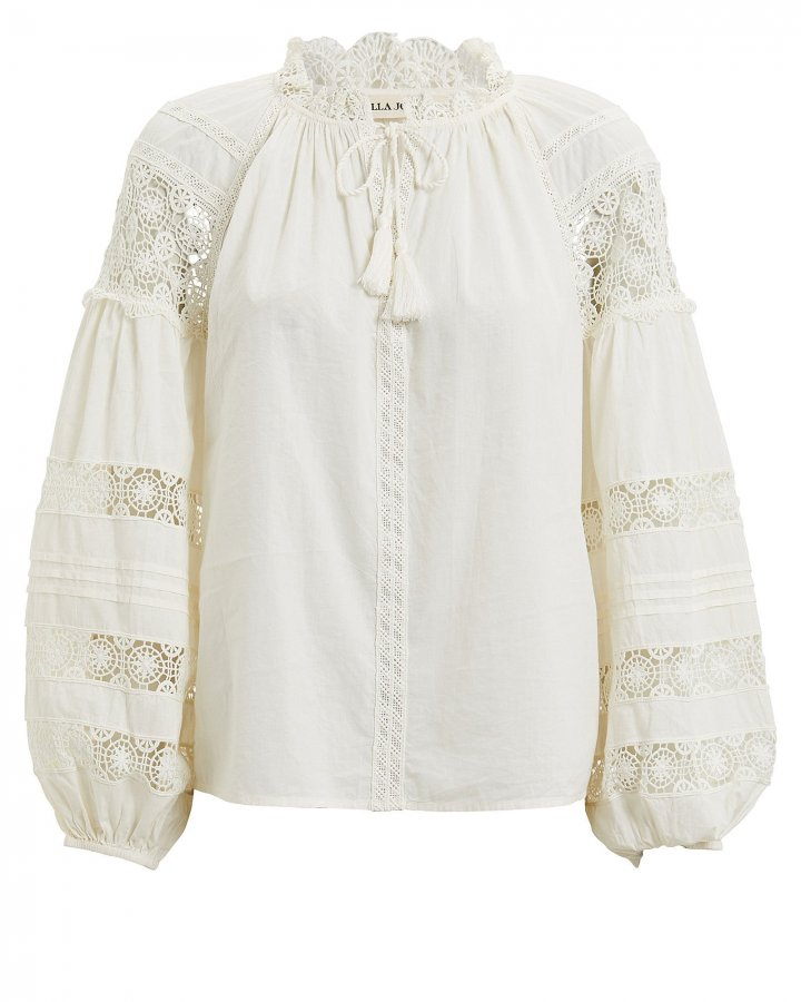 Gemma Cotton Voile Blouse
