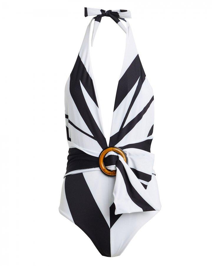 Germain One-Piece Halter Swimsuit