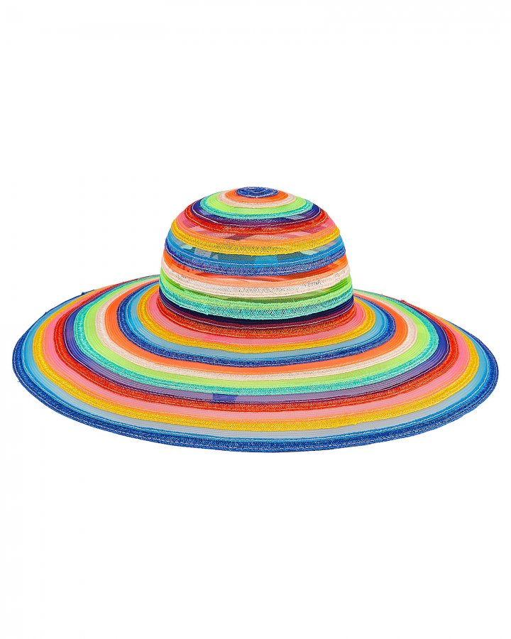 Bunny Striped Sun Hat