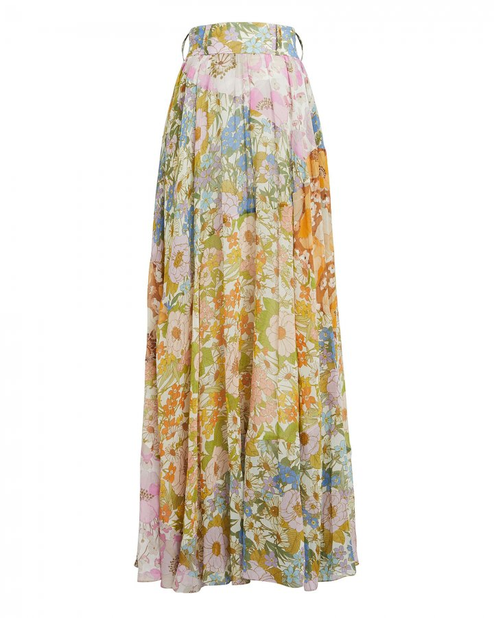 Super Eight Floral Maxi Skirt