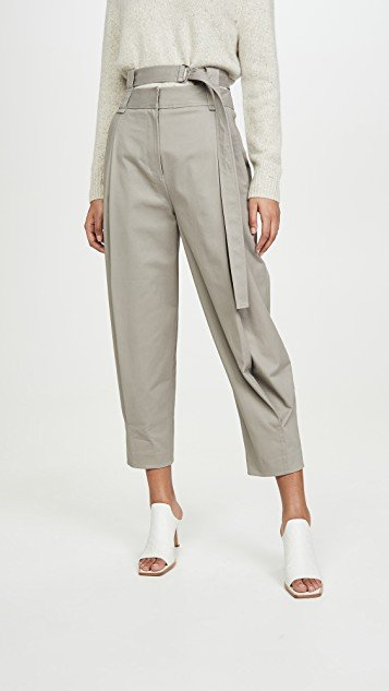Double Waisted Sculpted Pants
