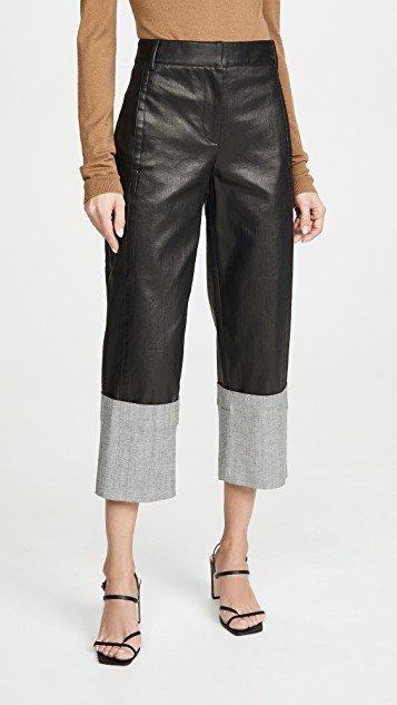 Cuffed Nerd Pants