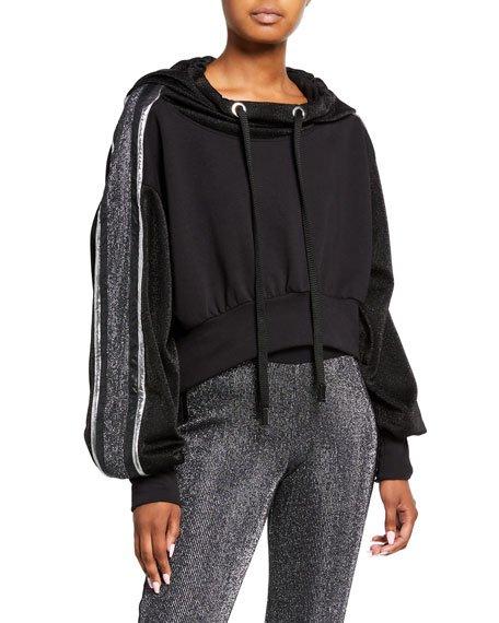 Blackout Metallic Pullover Hoodie