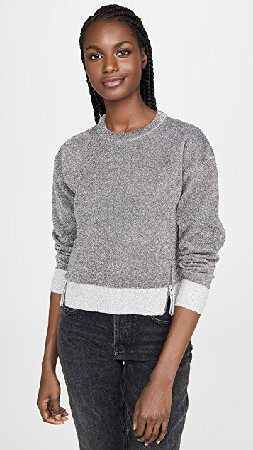 Silver Sparkle Sweatshirt