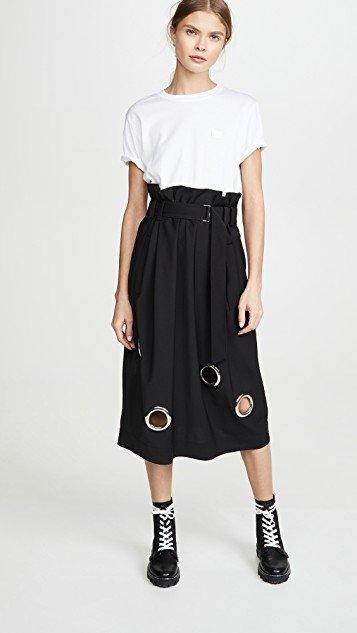 Paper Bag Grommet Skirt