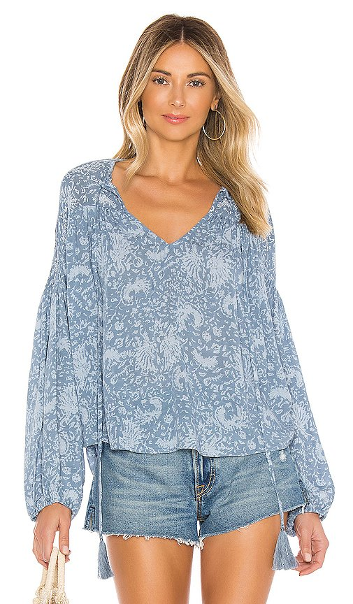 Somi Easy Oversize Summer Blouse