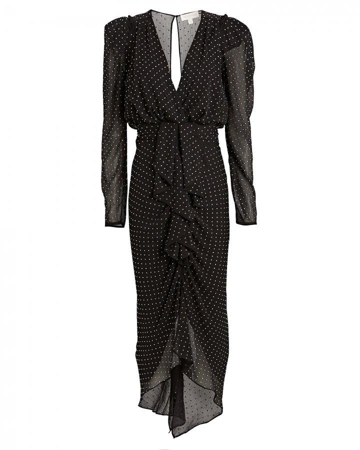 Astrid Embellished Chiffon Dress