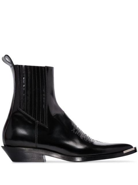 Paco Rabanne Santiag Cowboy Boots - Farfetch