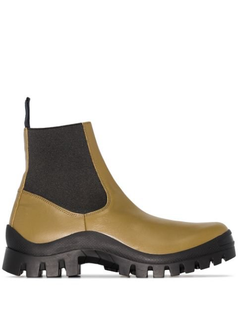 Atp Atelier Catania Chunky Ankle Boots - Farfetch