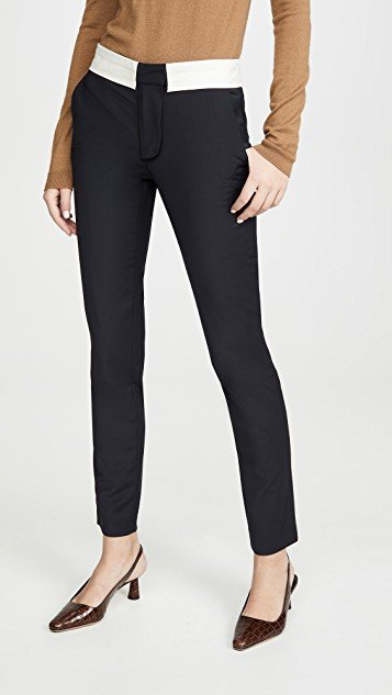 Beatle Pants with Waistband Detail