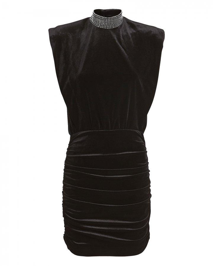 Nillie Velvet Mini Dress