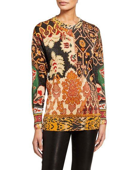 Neo Nomad Animal Print Sweater