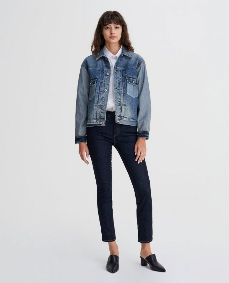 The Mari in Indigo Spring   AG Jeans Official Store