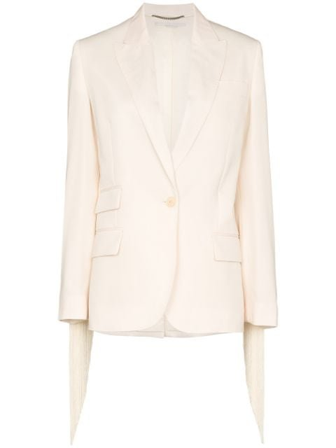 Stella McCartney fringe-trimmed Blazer - Farfetch