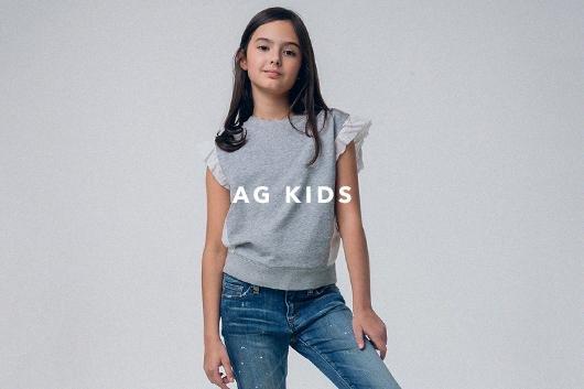 The Karis Sweatshirt in True Black   AG Jeans Official Store