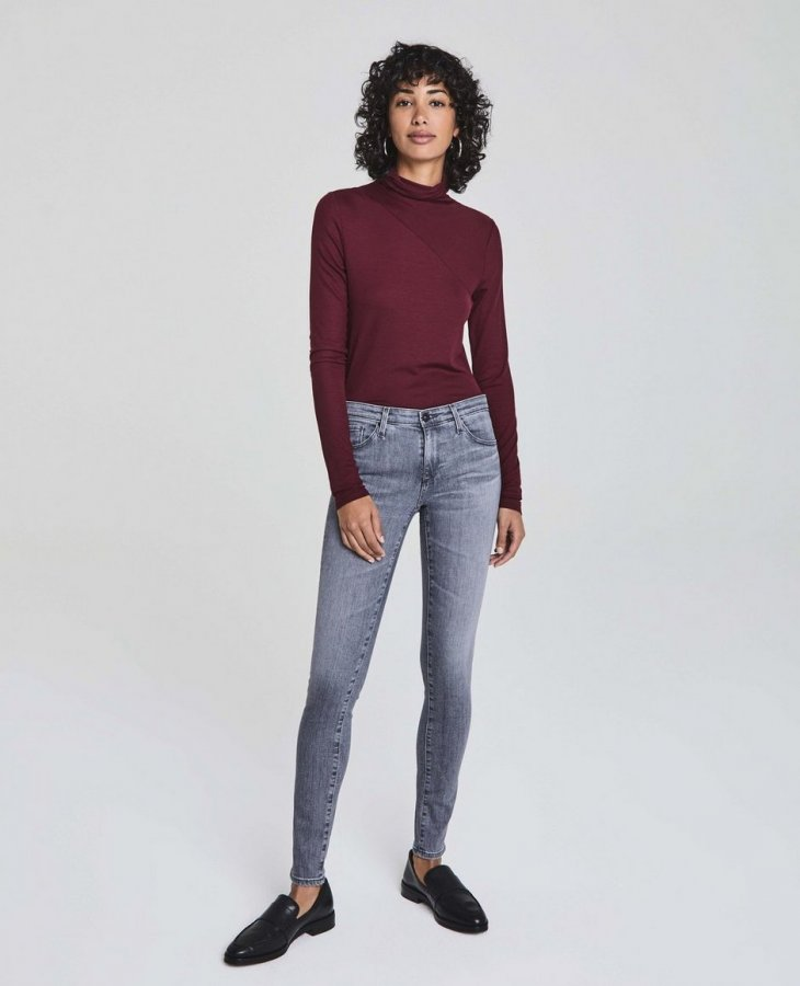 The Legging in Gray Light at AG Jeans Official Store