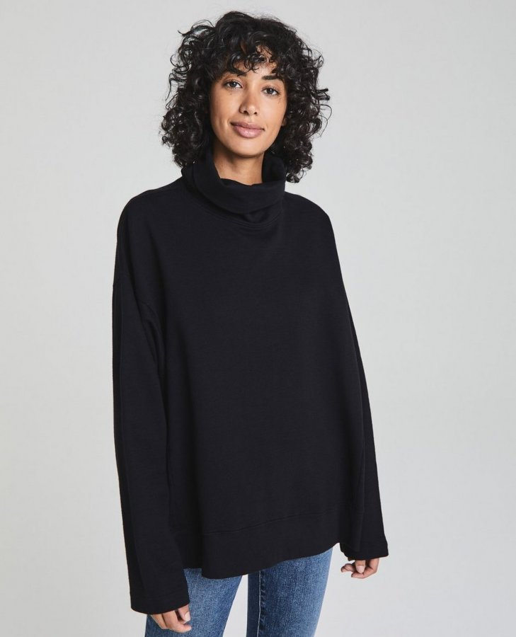 The Haven Sweatshirt in True Black at AG Jeans Official Store