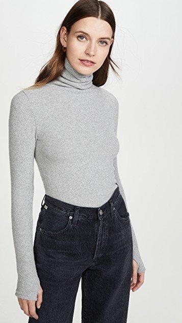 Sweater Knit Turtleneck