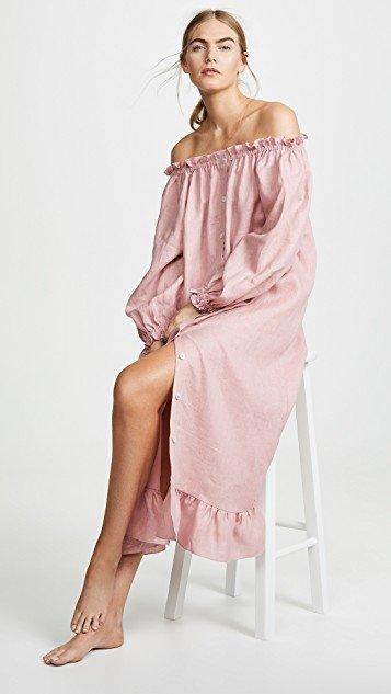 Linen Lounge Dress