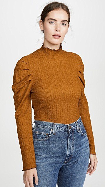 Ela Turtleneck Long Sleeve Tee