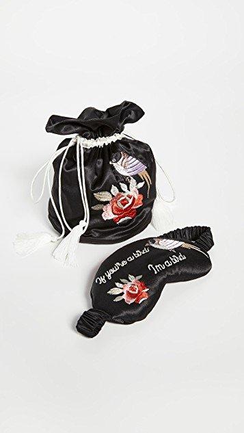 Love Tassel Bag & Eyemask