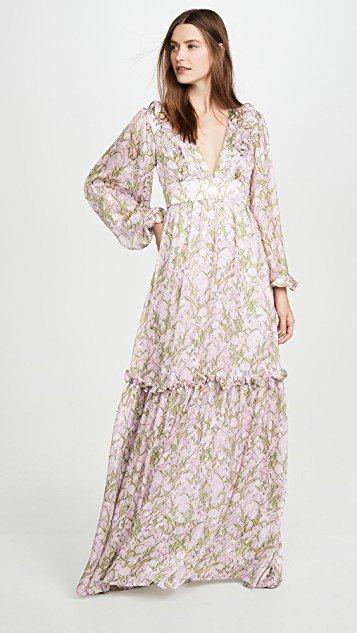 Iman Waving Grass Dress