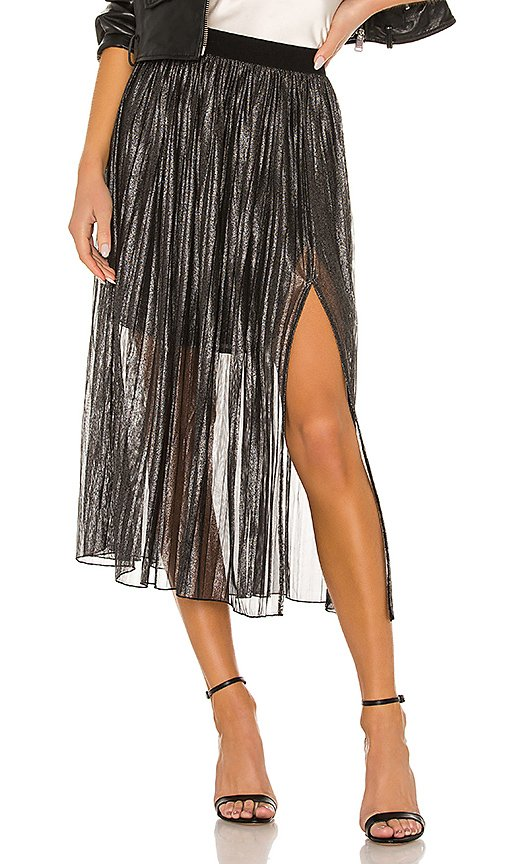 Timeless Pleated Midi Skirt