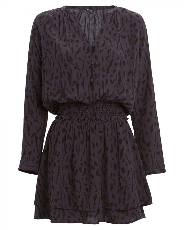 Jasmine Leopard Mini Dress