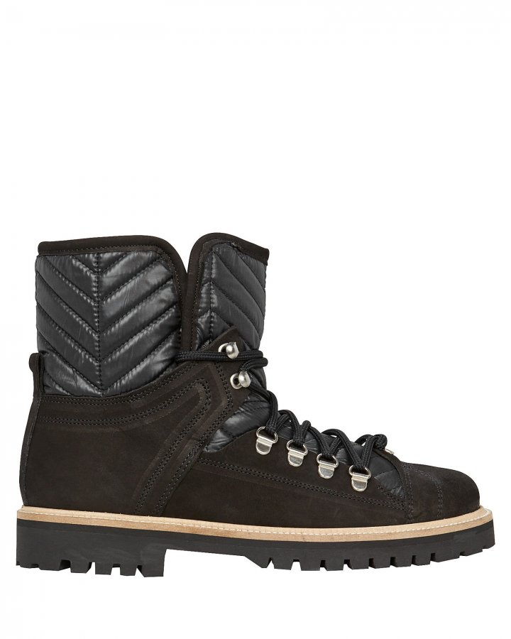 Winter Hiking Shearling Boots